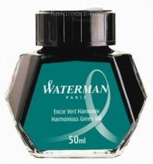 ATRAMENT Waterman GREEN HARMONIOUS GREEN - zielony 50 ml