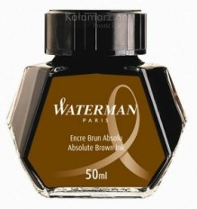 ATRAMENT Waterman HAVANA/ABSOLUTE BROWN - brąz 50 ml