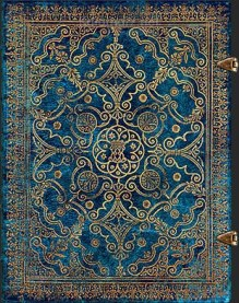 NOTES PAPERBLANKS EQUINOXE AZURE ULTRA GŁADKI