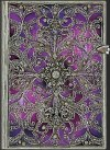 NOTES PAPERBLANKS SILVER FILIGREE AUBERGINE MIDI LINIE