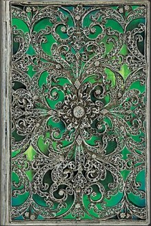 NOTES PAPERBLANKS SILVER FILIGREE ESMERALDA MIDI LINIE