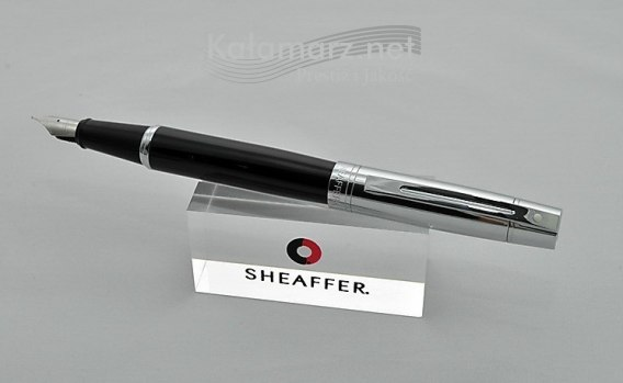 Pióro wieczne SHEAFFER Gift Collection 300 Czarne Skuwka Chrom Stalówka M