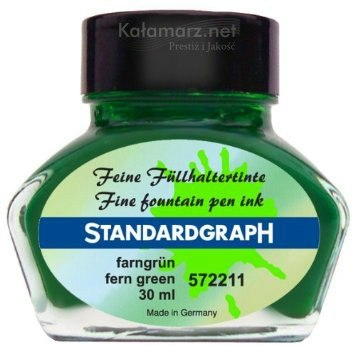 ATRAMENT STANDARDGRAPH -fern green/LIŚĆ PAPROCI 30 ML
