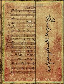 NOTES PAPERBLANKS Embellished Manuscripts Collection MOZART MIDI LINIE