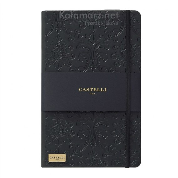 NOTATNIK NOTES CASTELLI IVORY BLACK - BAROK