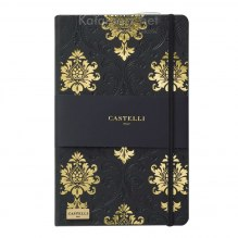 NOTATNIK NOTES CASTELLI IVORY BLACK&GOLD - BAROK