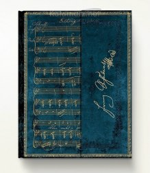 NOTES PAPERBLANKS Embellished Manuscripts Collection SCHUBERT ERLKONIG ULTRA LINIE