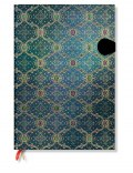 NOTES PAPERBLANKS FRENCH ORNATE BLEU GRANDE LINIE