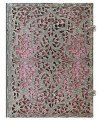NOTES PAPERBLANKS SILVER FILIGREE BLUSH PINK ULTRA LINIE