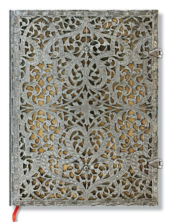 NOTES PAPERBLANKS SILVER FILIGREE NATURAL ULTRA LINIE