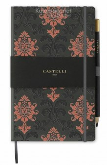 NOTATNIK NOTES CASTELLI COPPER - BAROQUE