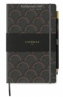 NOTATNIK NOTES CASTELLI COPPER - ART DECO