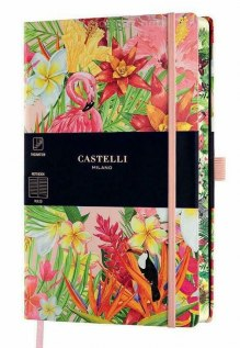 NOTATNIK NOTES CASTELLI EDEN FLAMINGO