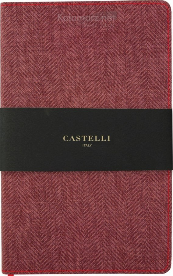 NOTATNIK NOTES CASTELLI HARRIS FLEX MAPLE RED