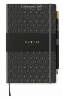 NOTATNIK NOTES CASTELLI COPPER - PLASTER MIODU