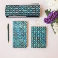 NOTES PAPERBLANKS BLUE VELVET MIDI LINIE